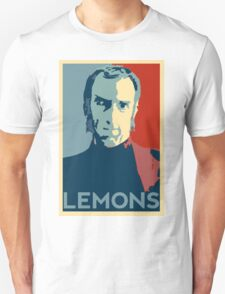 Portal 2 Cave Johnson LEMONS (hope parody) Unisex T-Shirt