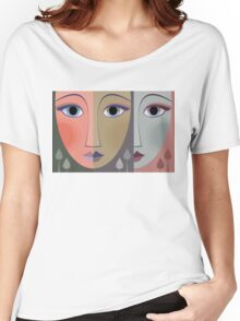 FACES #10 Women's Relaxed Fit T-Shirt