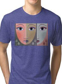 FACES #10 Tri-blend T-Shirt