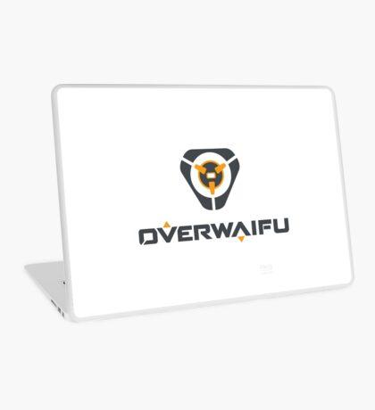 Overwaifu - Tracer (Logo) Laptop Skin