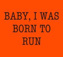 Born To Run Kids Tee