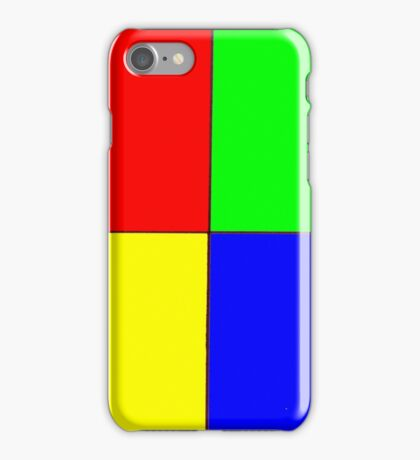 Four colors iPhone Case/Skin