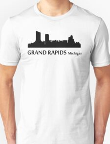 Grand Rapids Cityscape Skyline Unisex T-Shirt