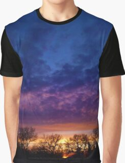 Purple Sky Sunset (1) - Jeronimo Rubio Photography 2016 Graphic T-Shirt