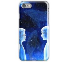 Space whales iPhone Case/Skin