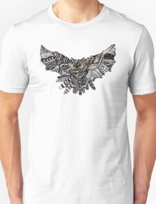 Night Owl in Color Unisex T-Shirt