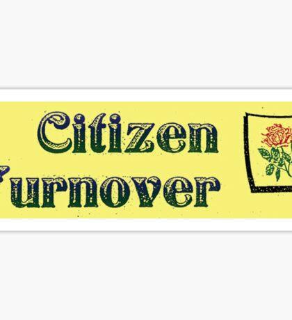 Citizen Turnover US Tour Sticker