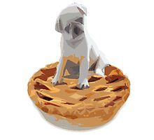 Pug pIe Photographic Print