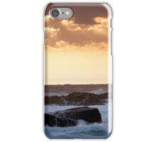 Clouds Break, Monterey CA iPhone Case/Skin
