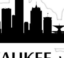Milwaukee Cityscape Skyline Sticker