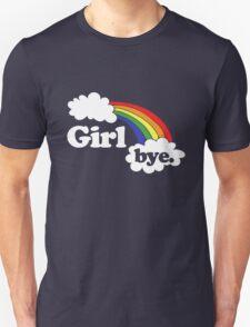 Girl BYE rainbow Unisex T-Shirt