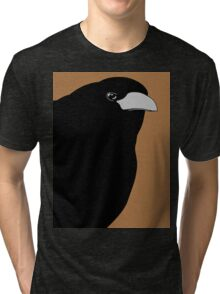 THE OLD CROW #3 Tri-blend T-Shirt