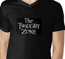 The Twilight Zone logo Mens V-Neck T-Shirt