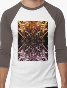 Garden Variety Abstract Men's Baseball ¾ T-Shirt