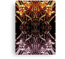 Garden Variety Abstract Canvas Print