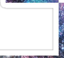 Space Glider Sticker