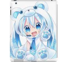 Kawaii miku chibi iPad Case/Skin