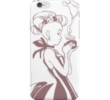 Earl Grey & Lavender Tea illustration iPhone Case/Skin