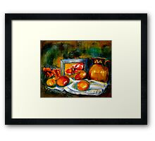 Notes From An Island... Framed Print