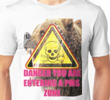 Warning PMS Zone Ahead Unisex T-Shirt