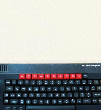 BBC Micro top-down Sticker