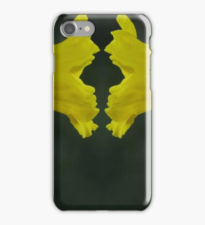 Daffodil Face Off iPhone Case/Skin
