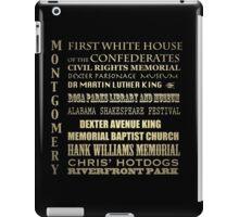 Montgomery Alabama Famous Landmarks iPad Case/Skin