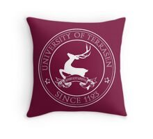 The University of Terrasen Throw Pillow