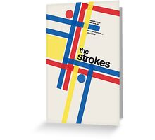 THE STROKES GOV BALL Greeting Card