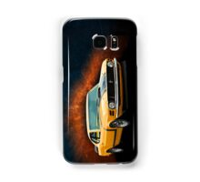 Orange 1970 Boss 302 Mustang Samsung Galaxy Case/Skin