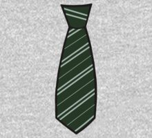 Slytherin Tie  One Piece - Long Sleeve