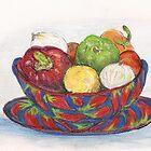 In My Mexican Kitchen #1 by Lynda Earley