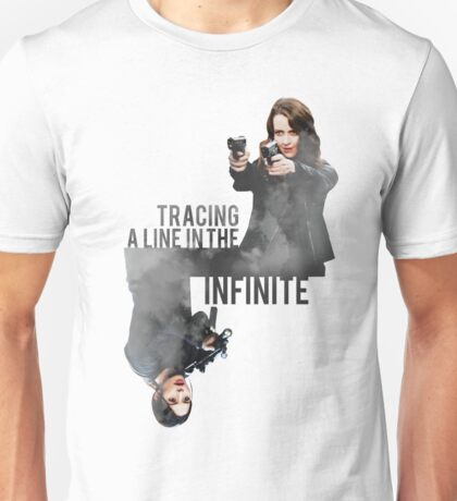 Tracing A Line In The Infinite (Person of Interest) Unisex T-Shirt