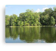 Lake Ridge Reflection by Respite Artwork Canvas Print