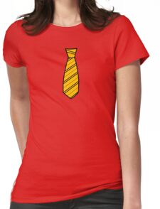 Badger House Tie  Womens Fitted T-Shirt