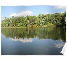 Lake Ridge Reflection 2 by Respite Artwork Poster