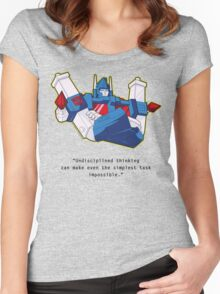 Ultra Magnus - quote (larger text) Women's Fitted Scoop T-Shirt