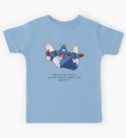 Ultra Magnus - quote (larger text) Kids Tee
