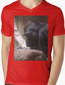 Gorilla in Deep Thought T-Shirt
