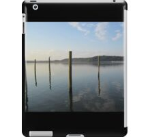 Dock Pylon Reflections by Respite Artwork iPad Case/Skin
