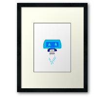 Overwatch Mei Companion Framed Print