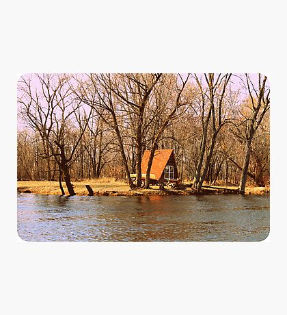 Cottage On The Fox River Photographic Print