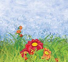 Floral 3 by Silvia Neto