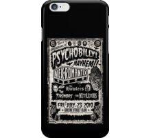 Psychobilly Mayhem iPhone Case/Skin