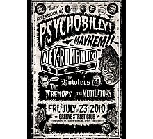 Psychobilly Mayhem Photographic Print