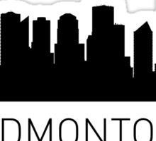 Edmonton Alberta Cityscape Sticker