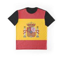 Spain Flag Graphic T-Shirt
