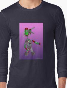 Robotic Classroom Apparition Long Sleeve T-Shirt