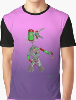 Robotic Classroom Apparition Graphic T-Shirt