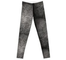 Embossed Great Blue Heron Leggings